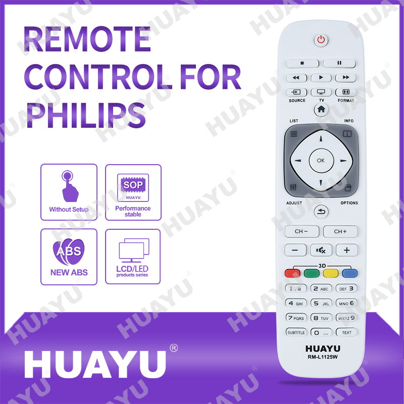 Remote Control for PHILIPS