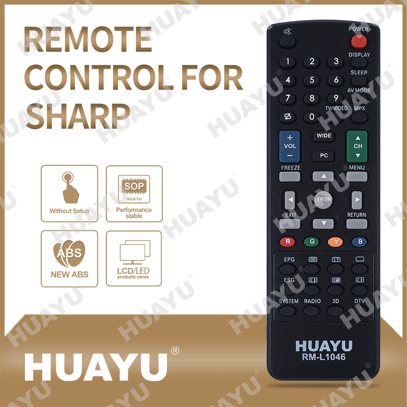 Remote Control for SHARP