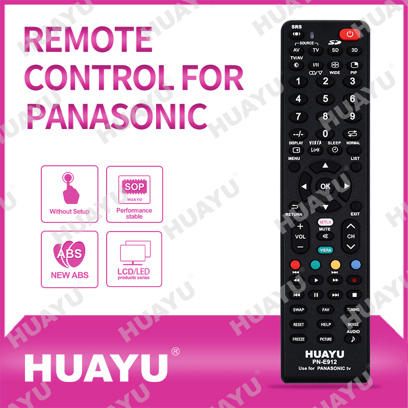 REMOTE CONTROL FOR PANASONIC