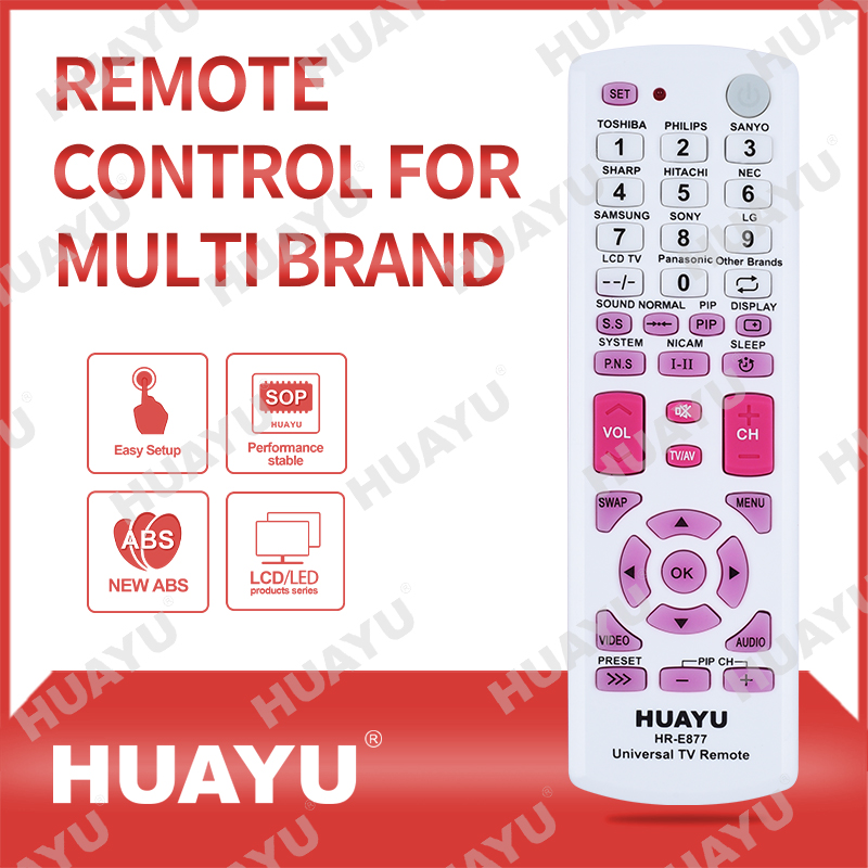 REMOTE CONTROL FOR MULTI BRAND